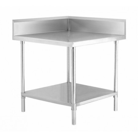 Stainless Steel Corner Bench 700/700 W x 700 D