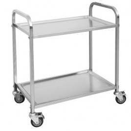 Two Tier Service Trolley Cart