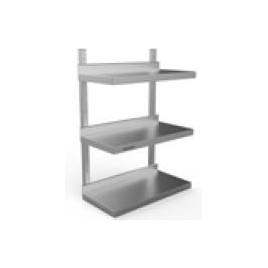 Wall Shelf Triple Tier 1500 L x 300 D x 875 H mm