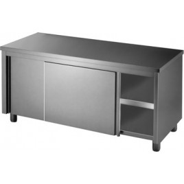 Stainless Workbench Cabinet  1200mm With Doors