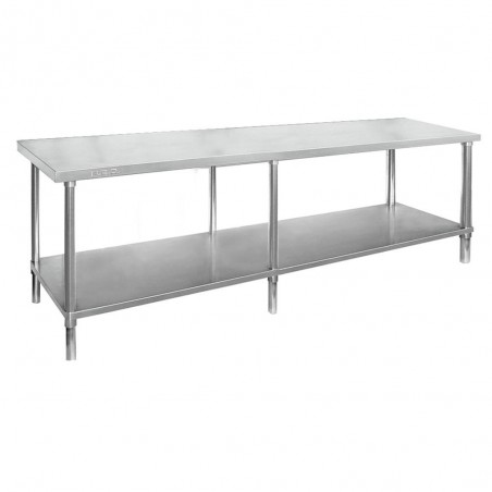 Stainless Steel Work Bench 2400 W x 600 D