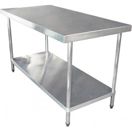 Stainless Bench 1800 W x 760 D x 900 H mm