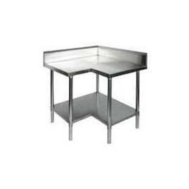 Stainless Corner Bench 900 W x 760 D x 900 H mm