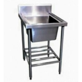Stainless Single Sink 600 mm