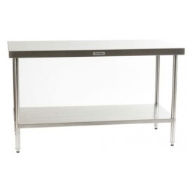 Stainless Bench 1500 L x 600 D mm