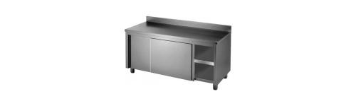Stainless Splashback Cabinets