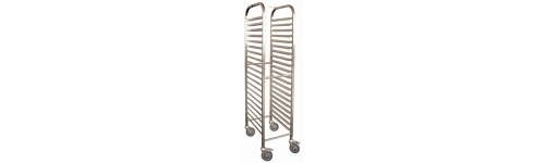 Stainless Gastronorm Trolleys