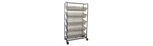 Stainless Bakery Trolleys