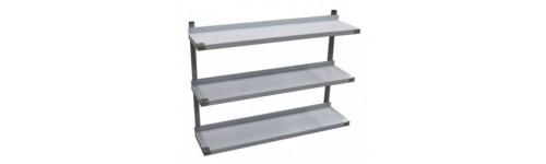 Triple Wall Shelves